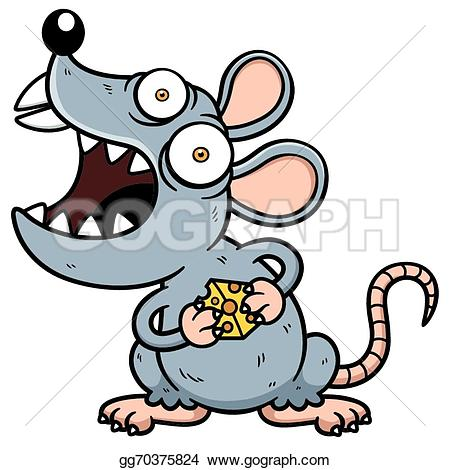 Rat clipart mean #9