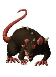 Drawn rat dire Rat fantasy and Rats Pinterest