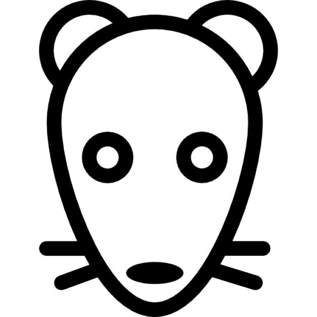 Drawn rat rat head PSD Rat outline files Photos