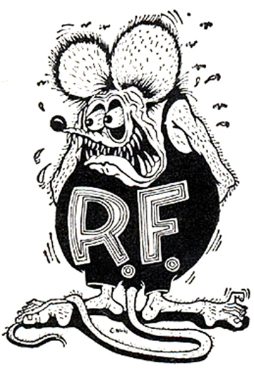 Rat Fink clipart black and white THE X GREATEST WORLD'S DIAL