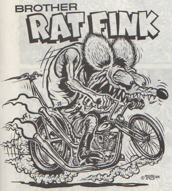 "Rat Fink clipart brother rat Fink"" on ""Big Newton Rat"