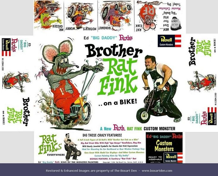 Rat Fink clipart brother rat Rat about The Brother best