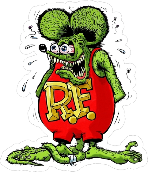 Rat Fink clipart brother rat Is vinyl inch Sticker inch