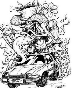 Rat Fink clipart burnout #13