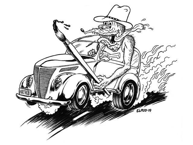Rat Fink clipart car #11
