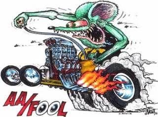 Rat Fink clipart car #3