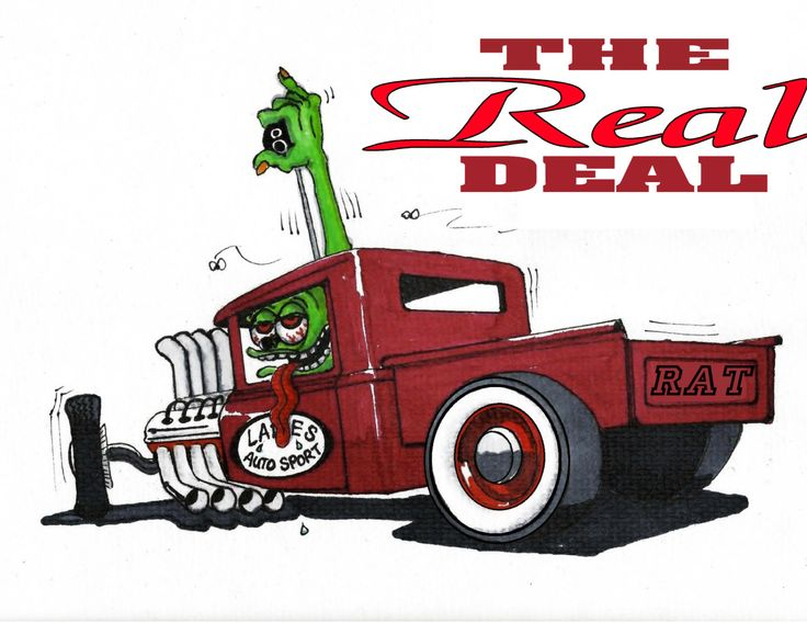 Rat Fink clipart car #12