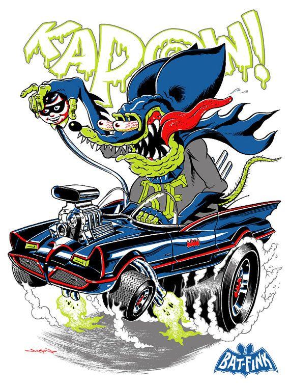 Rat Fink clipart car #7