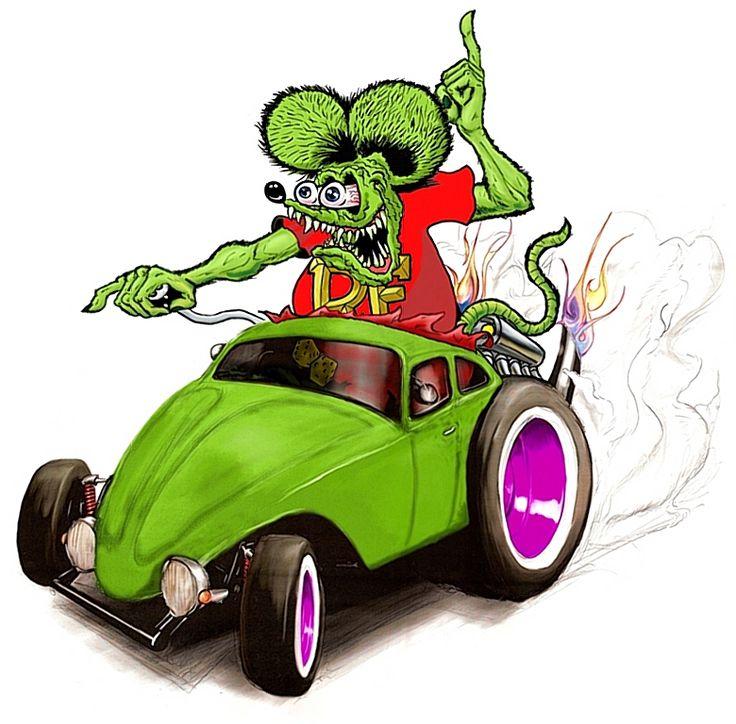 Rat Fink clipart car #13
