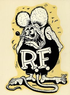 Rat Fink clipart casino Roth Daddy