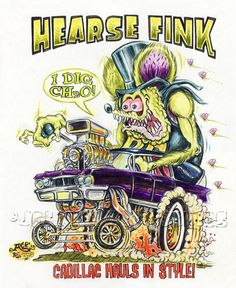 Rat Fink clipart dragster About Roth UNDERTAKER Original Rat