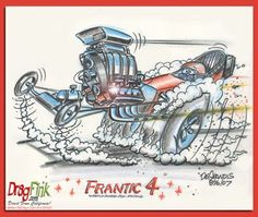 Rat Fink clipart dragster FuelRat Dragster · Frantic of