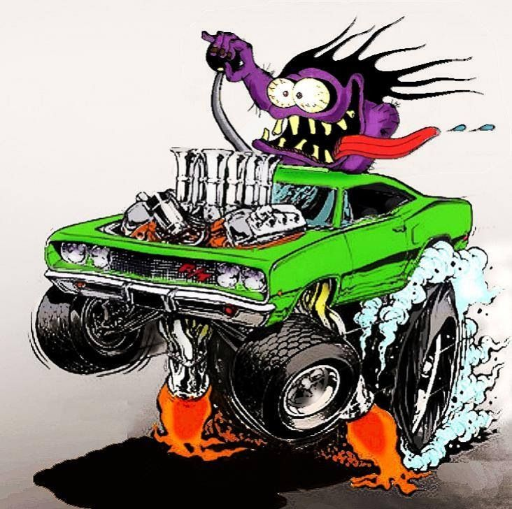 Rat Fink clipart dragster Fink rat Cartoon C Pinterest