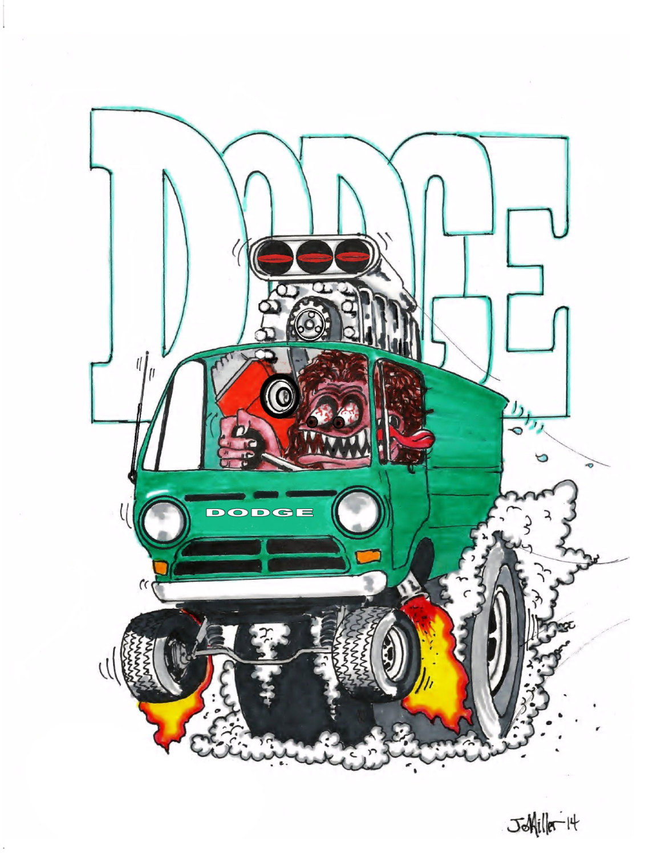Rat Fink clipart hot rod This Van Hot item? Dodge