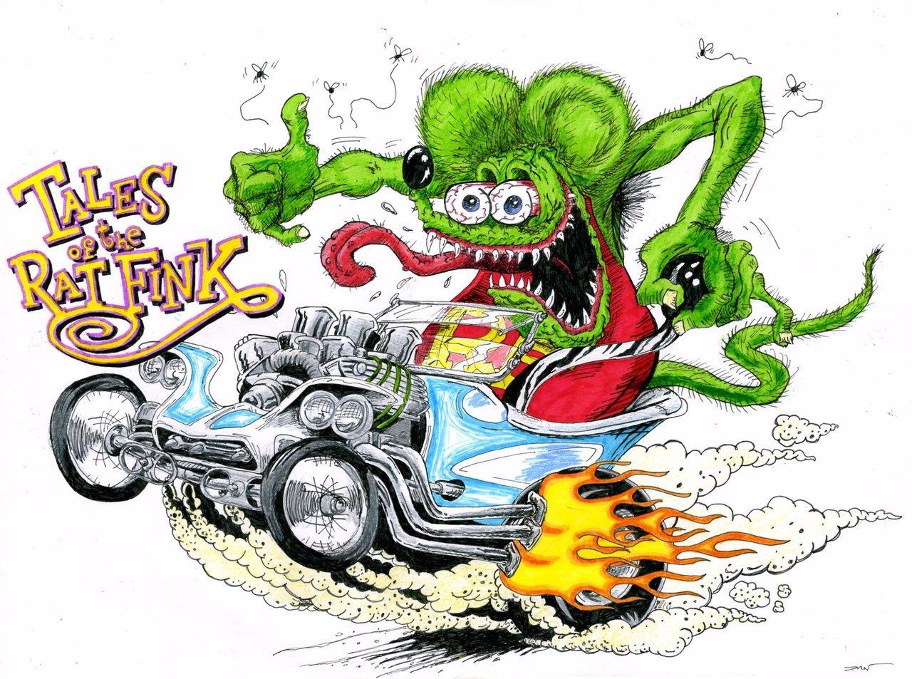 Rat Fink clipart hot rod 2 Rat by best on