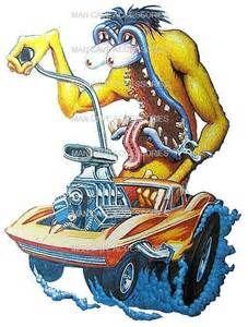 Rat Fink clipart hot rod Fink Corvette Vinyl eBay Gallery