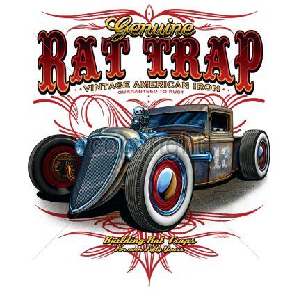 Rat Fink clipart hot rod T Trap Rod T images