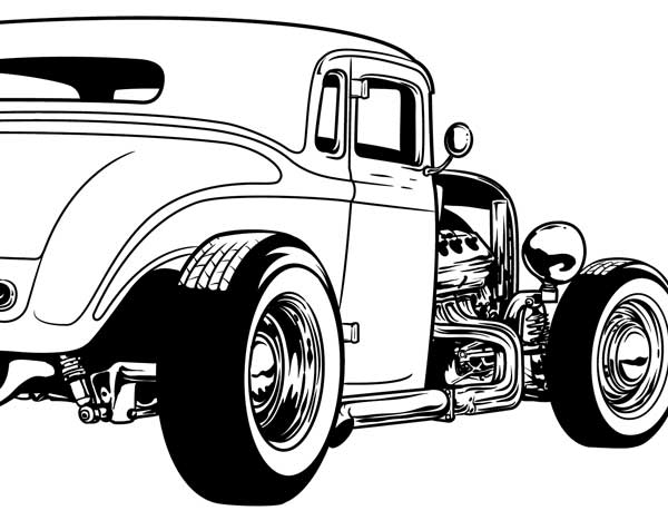 Rat Fink clipart hot rod For Rod Clipart from Pinterest