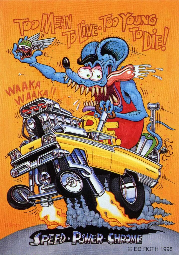 Rat Fink clipart mean Ed too brocklyncheese Pinterest Fink