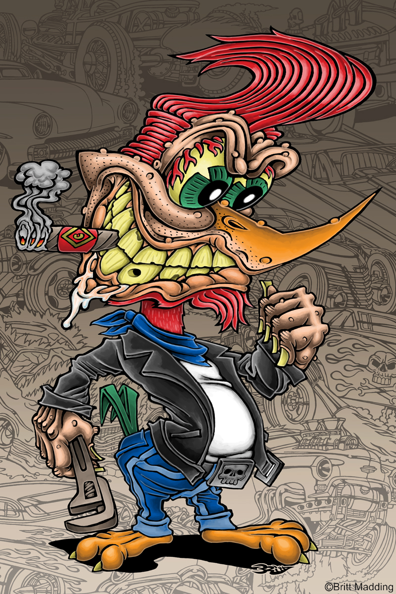 Rat Fink clipart mean Of lowbrow fink favourite tattoo