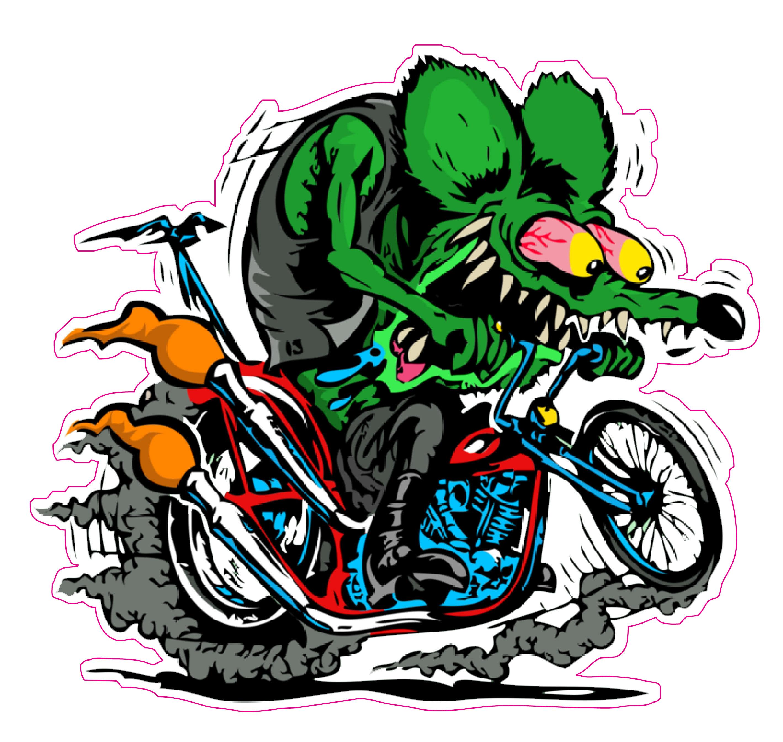 Rat Fink clipart motorcycle Rat ratfink harley Magnet Fink