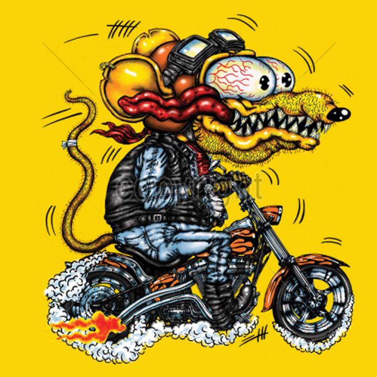 Rat Fink clipart motorcycle Fink Biker Rat Rat Fink