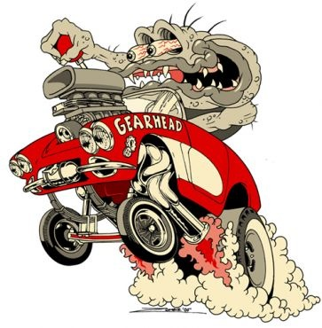 Rat Fink clipart motorcycle About Rod on images Zombie