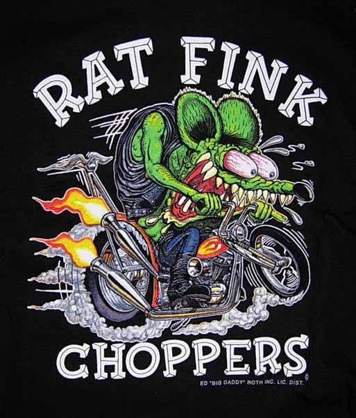 Rat Fink clipart motorcycle Fink choppers Pinterest Rat Rat