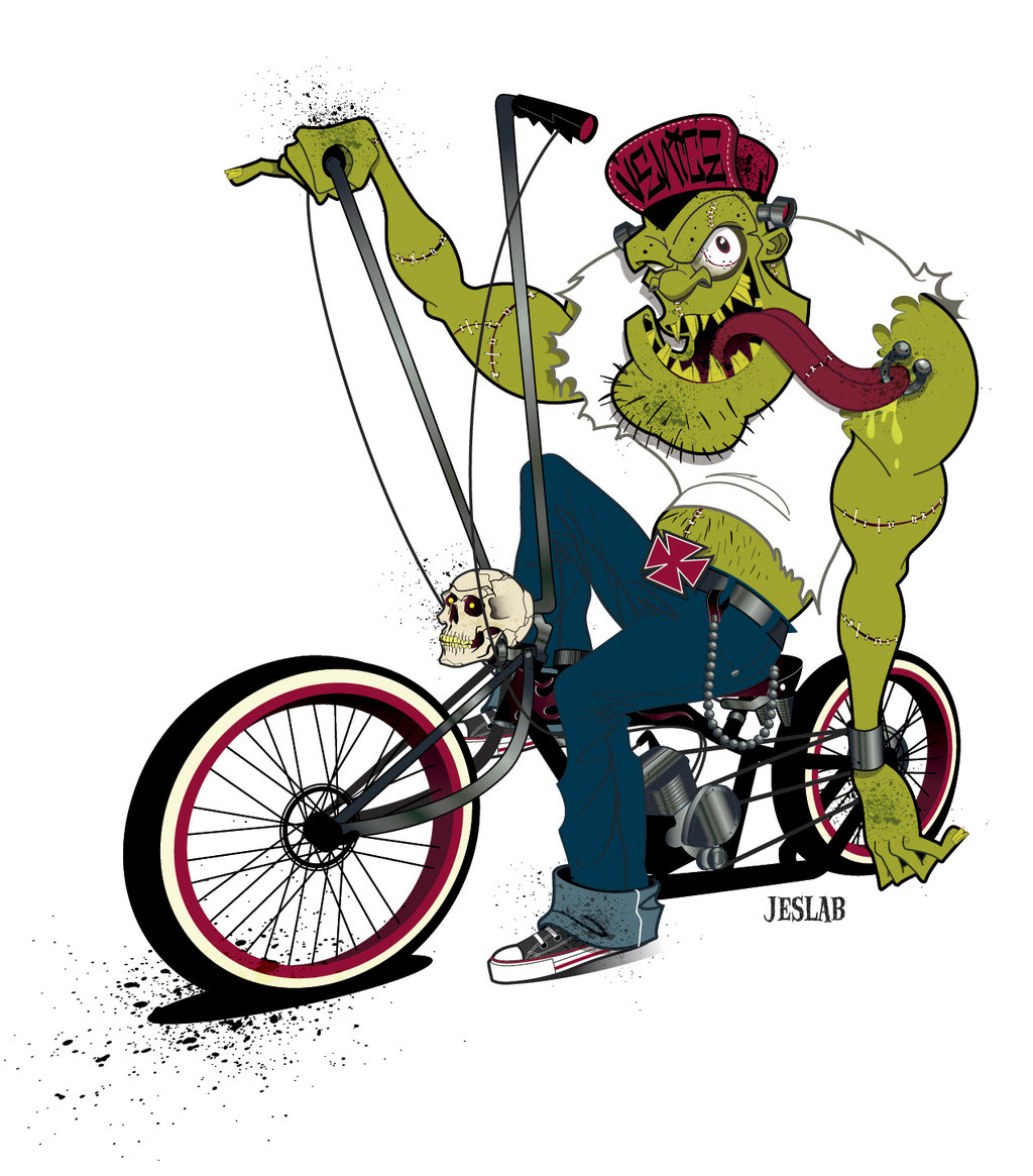 Rat Fink clipart motorcycle Roth bike Decal Daddy