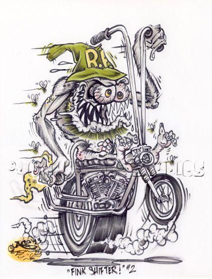Rat Fink clipart motorcycle ROTH Monster Rat Original BIKE