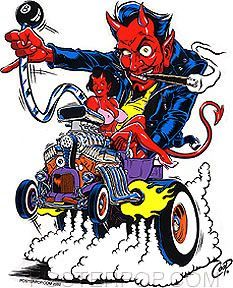 Rat Fink clipart motorcycle Roth  cartoons and daddy
