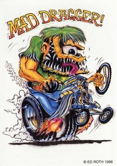 Rat Fink clipart psychobilly Mad daddy Toons rod Google