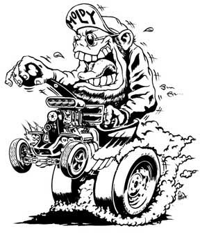 Rat Fink clipart psychobilly Simple Outlaw RATFINK Moldy's Project