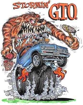 Rat Fink clipart psychobilly LP CD images Art Monster