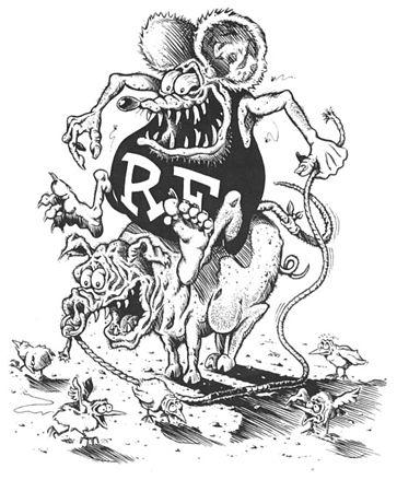 Rat Fink clipart psychobilly Rat  Fink Wikipedia