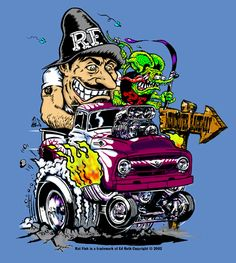 Rat Fink clipart small Front custom: size FINK picture