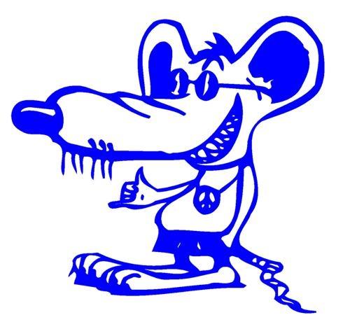 Rat Fink clipart small Decal Fink  Sticker Rat