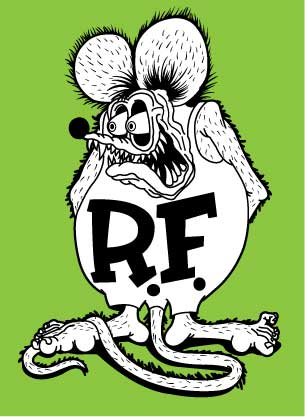 Rat Fink clipart vector On Johnny Ratfink by by