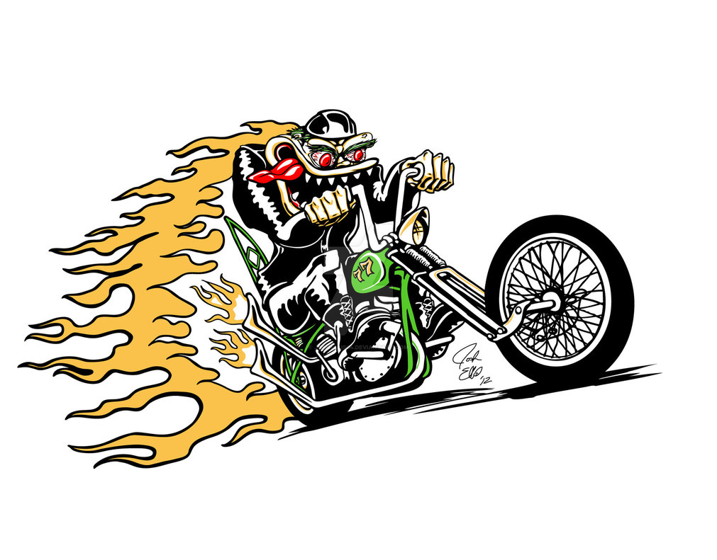 Rat Fink clipart vector On by Rooster Fink Fink