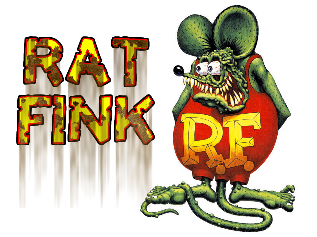Rat Fink clipart vector Remembered  8 America Page