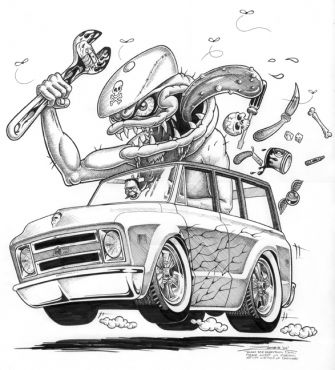 Rat Fink clipart zombie Pinterest Zombie Art Hot Hot