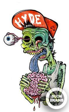 Rat Fink clipart zombie Fink Dibujos Dave Big dementes