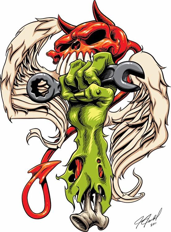 Rat Fink clipart zombie Google art like Daddy like