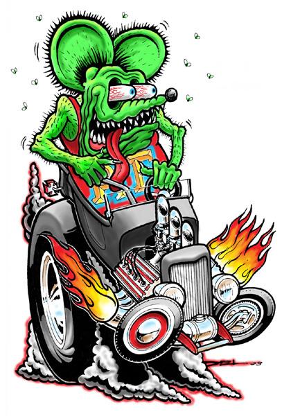 Rat Fink clipart zombie Rat Rat and bucket FINK