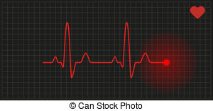 Heart Rate Showing graph heart