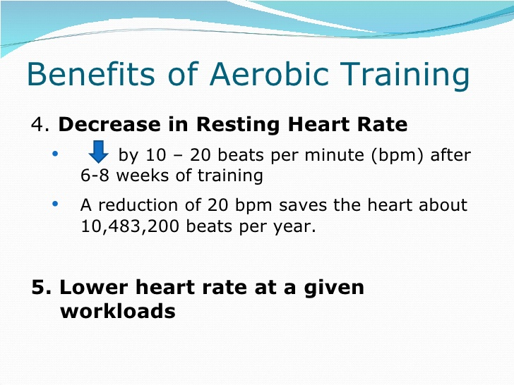 Beats clipart cardiorespiratory fitness Aerobic Benefits of 12 endurance