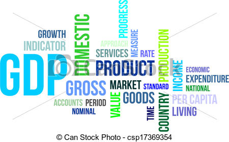 Rate clipart gdp #11