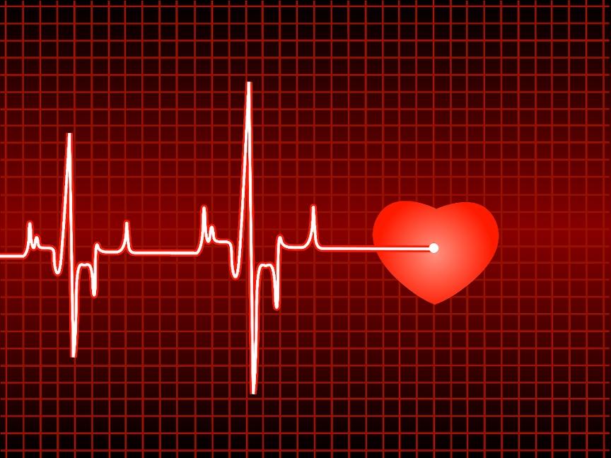 Beats clipart heart health Beats and Heart PowerPoint Backgrounds