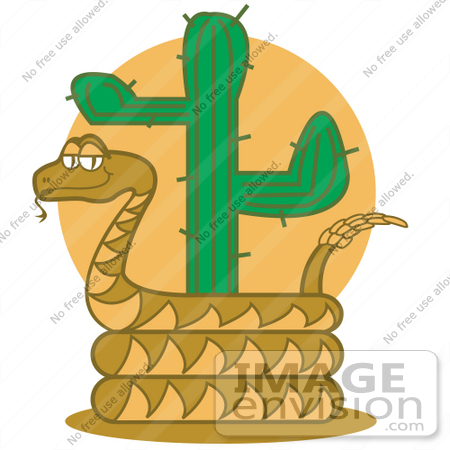 Rattlesnake clipart desert snake #14