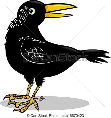 Raven clipart animated #12
